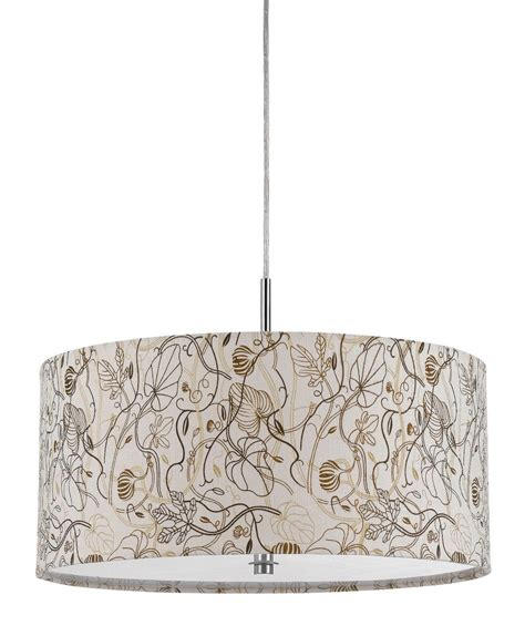 white drum pendant light fixture floral botanical designs of the most pleasing earth