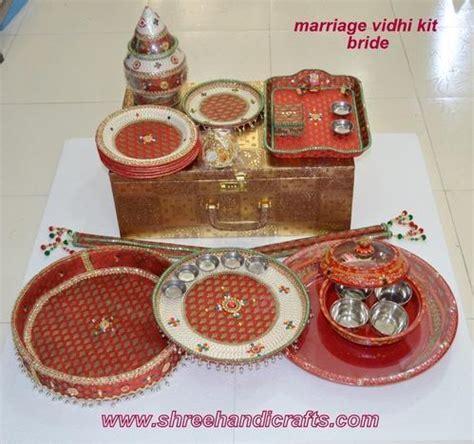 Gujarati Marriage Vidhi Items   Marriage Vidhi Kit Bride
