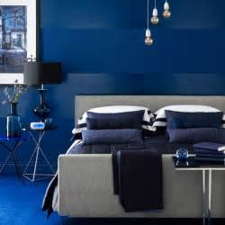 vivid blue bedroom indigo blue colour schemes home trends housetohome co uk