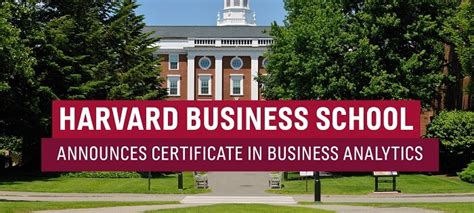 Admitted To Harvard Mba by Harvard Business School Announces Certificate In Business