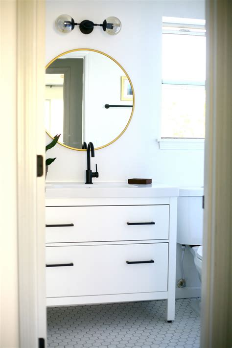 Ikea Bathroom Vanity Hack My Proudest Ikea Hack Modern Vanity From An Ikea Favorite Create Enjoy