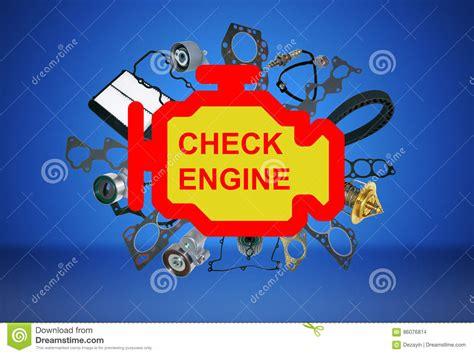 check engine light symbol check engine light symbol stock photo image of icon