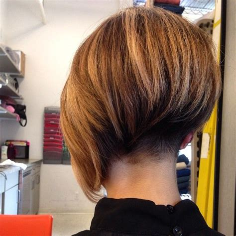picture of nape in hair cuts asymmetrical bob with short nape undercut short bob cuts