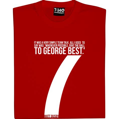Best T Shirt Quot Give The To George Best Quot T Shirt From Tshirtsunited