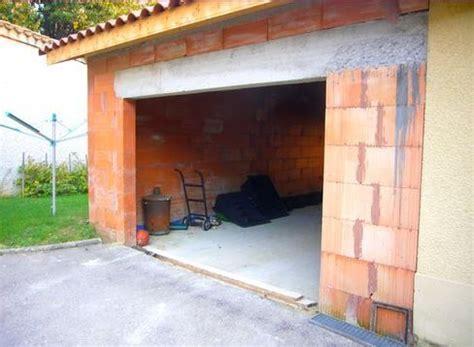 photos de garages en brique construire garage