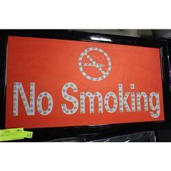 no smoking sign up no smoking light up sign
