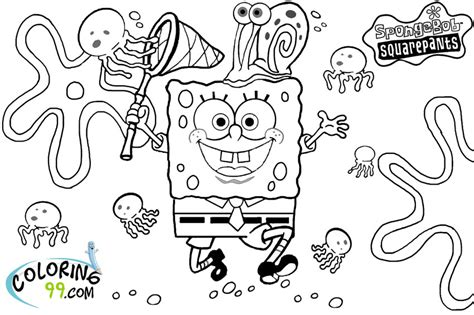 Spongebob Squarepants Coloring Pages Team Colors Spongebob Squarepants Coloring Pages