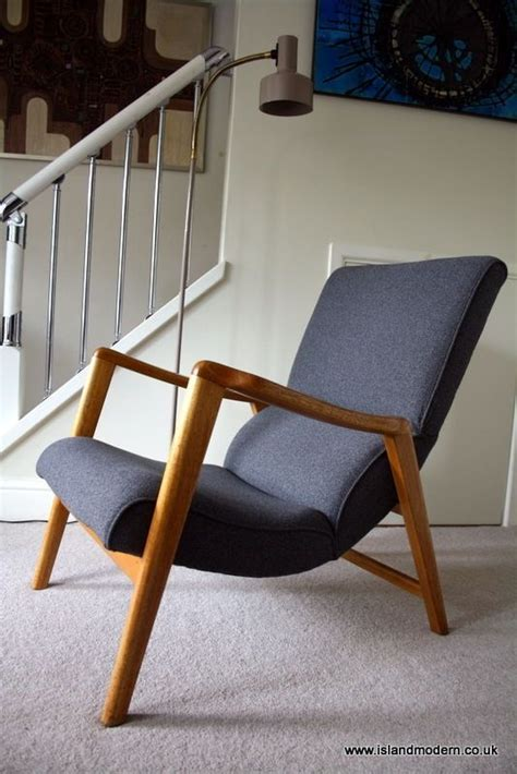 mid century chair plans vintage 1950s e gomme g plan mid century grey wool