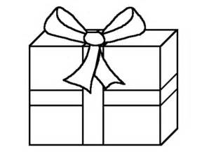present color sheet ribbon gift boxes coloring pages