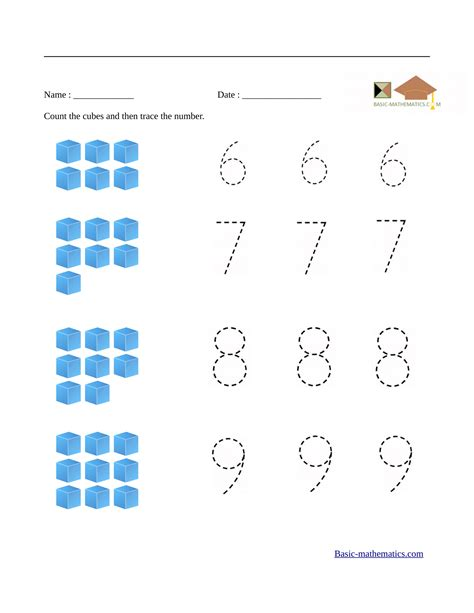 math kindergarten worksheet preschool math worksheets