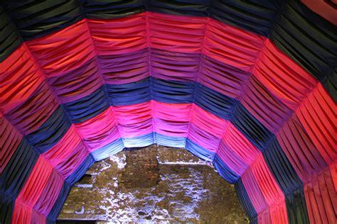 fabric drape fabric draping pipe drape gallery carnival chaos