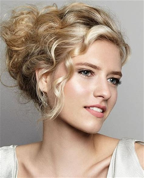 Curly Wedding Hairstyles With Bangs by Updo With Curly Bangs Wedding Hairstyle Hair Did