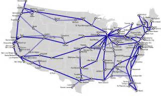 Map Of Amtrak Routes by Amtrak Map Routes