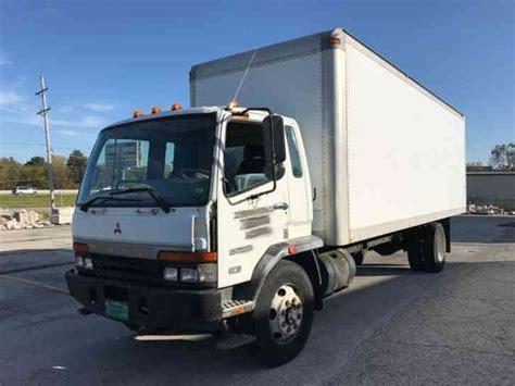 mitsubishi fuso box truck mitsubishi fuso fm617 2000 van box trucks