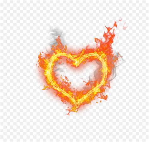 heart fire flame heart shaped fire png