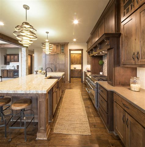 model home decor model home decorating ideas cozy home model home starr homes llc rustic kitchen kansas