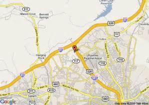Comfort Suites Roanoke Va Map Of Quality Inn Roanoke Airport Roanoke