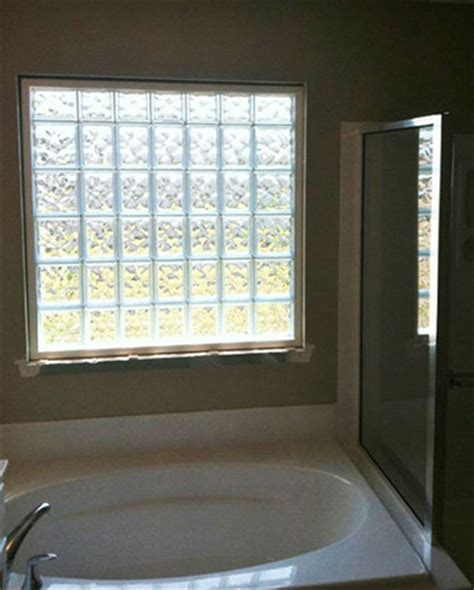 glass block windows for bathrooms the many uses of glass block for adding beauty to your