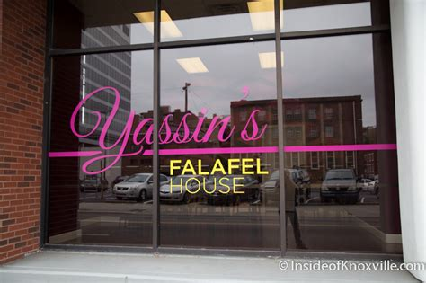 falafel house yassin s falafel house inside of knoxville