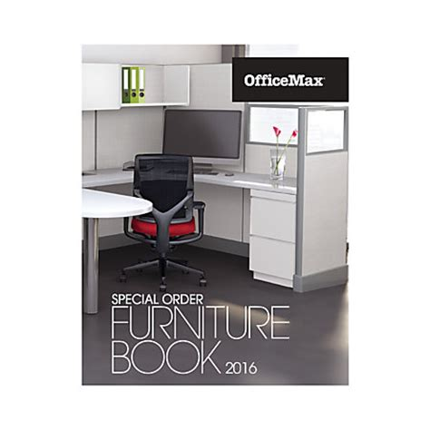 2016 officemax special order furniture catalog by office