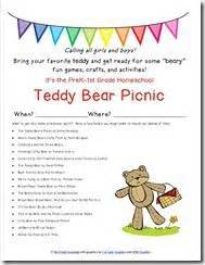 9 best images about classroom teddy picnic on