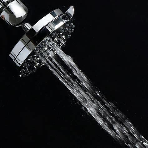 doccia alta pressione finitura in cromo bagno 4 testini doccia ad alta pressione