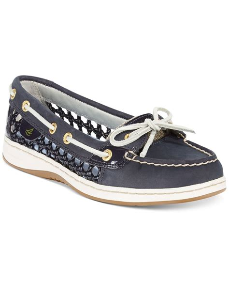 Sperry Top Sider Angelfish Sz 8 12 40 lyst sperry top sider s angelfish woven boat