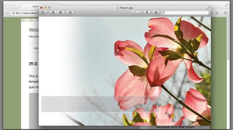 tutorial html background css background image tutorial lecture 37 web design for