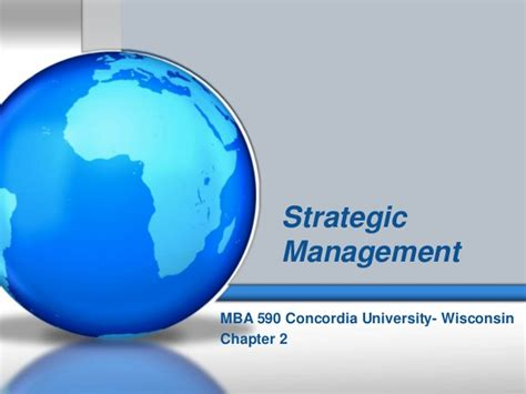 Bloomsburg Mba Strategic Info Tech Mgmt by Mba 590 Strategic Management Chpt 1 2