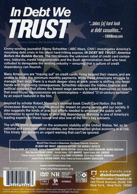 in debt we trust america before the bubble bursts 2007 full movie video in debt we trust america before the bubble bursts page 1