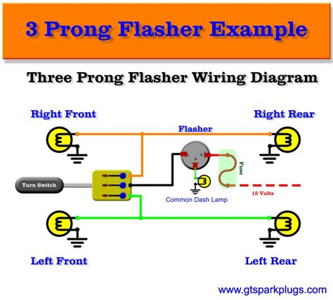 3 pin flasher unit wiring diagram 2 pin flasher relay