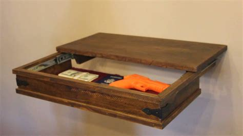 Compartment Shelf by Compartment Wall Shelf With Secret