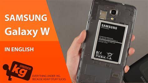 W Samsung Galaxy En Samsung Galaxy W Unboxing
