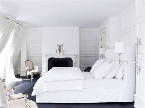 white bed white bedroom design ideas collection for your home
