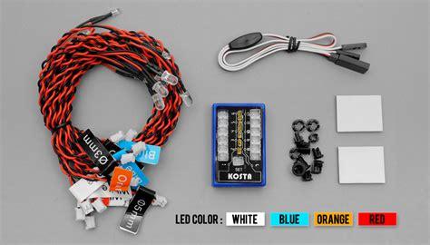 Rc Led Light Kit by Flash Led Light Kit For Rc Cars