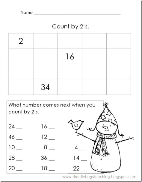 Counting By 2 S Worksheet by Maths Worksheets Counting In Twos Ks1 Maths Worksheets