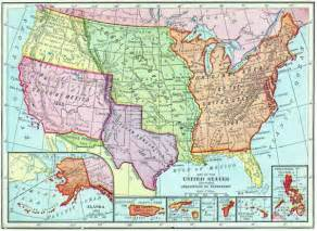 map of united states territories map of the territories of the united states by acquisition