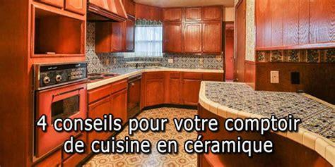 comptoir de c駻amique cuisine comptoir de cuisine 8 astuces pour rafrachir la cuisine