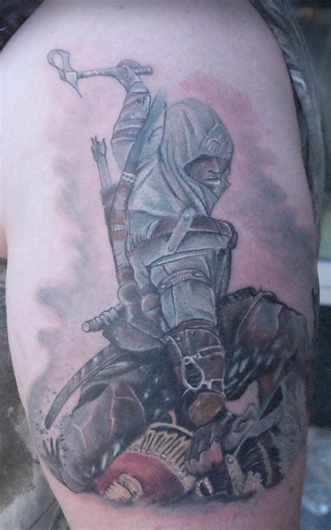 tattoo assassins ac assassins creed tattoo gaming stuff pinterest posts