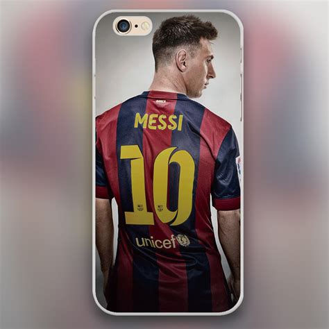Lionel Messi T Shirts Iphone 6 6s Custom lionel messi design plastic cover cell phone cases for apple iphone 4 4s 5 5c 5s 6 6s 6plus