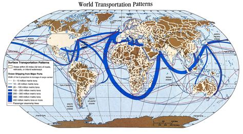 Trading Pattern Shipping | international shipping routes map google search cape