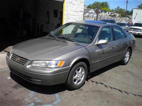 Toyota Camry 4 Cylinder Mpg 1998 Toyota Camry Le 4 Cylinder Mpg
