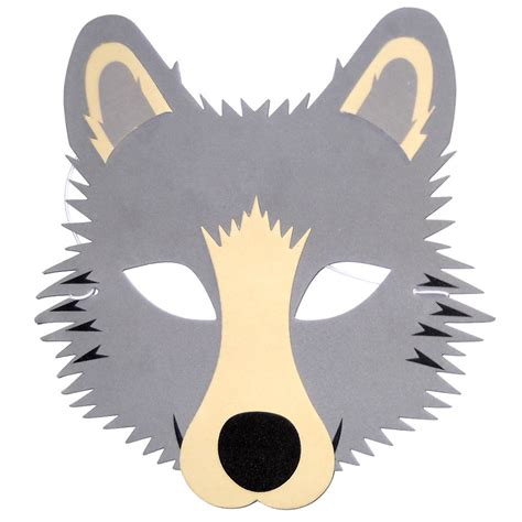 wolf mask template www imgkid com the image kid has it