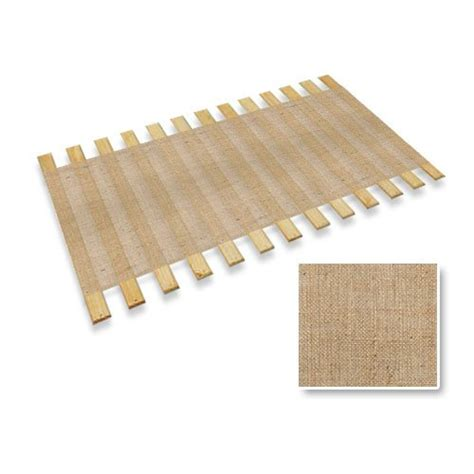 Slat Roll Mattress Support by Burlap Jute Size Bed Slats Bunkie Board Support Roll Dolosilly
