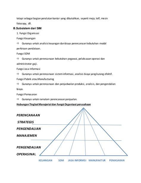 membuat makalah sistem informasi manajemen makalah sistem informasi manajemen gambaran umum sim