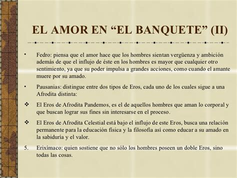 el banquete o sobre el amor para plat 243 n