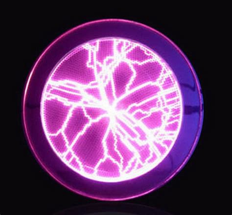 disco lights that react to music lumin disk 6 quot plasma plate light show party home decor