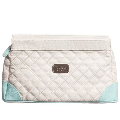 Toiletry Bag For Baby Mayoral Newborn Ivory Toiletry Bag 31cm Childrensalon