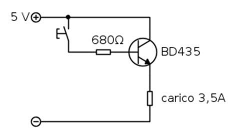 transistor bjt come interruttore utilizzo bjt npn bd435 come interruttore il forum di electroyou