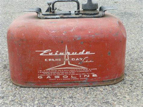 outboard boat motor gas tank buy vintage evinrude rare cruise a day outboard boat motor
